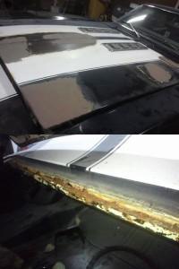 シボレーカマロ 板金塗装